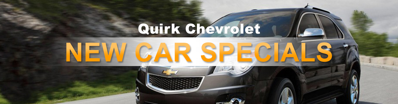 Specials - Quirk Chevrolet Electric Vehicles